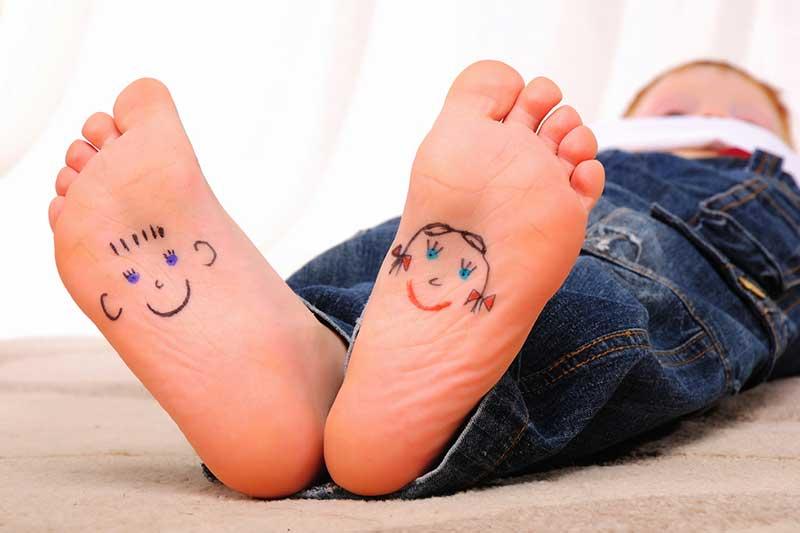 Problemen met de voeten van uw kind